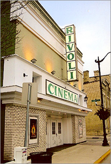 The Rivoli Theatre as it looked in 2007